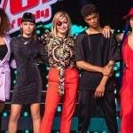 Simona Ventura e i finalisti - The Voice 2019
