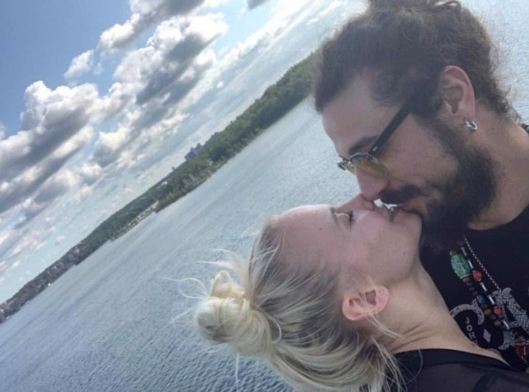 Veera Kinnunen e Dani Osvaldo (da Instagram)