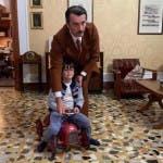 Alessio Boni sul set di Giorgio Ambrosoli - Il prezzo del coraggio