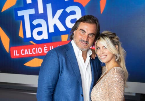 Pierluigi Pardo e Wanda Nara - Tiki Taka