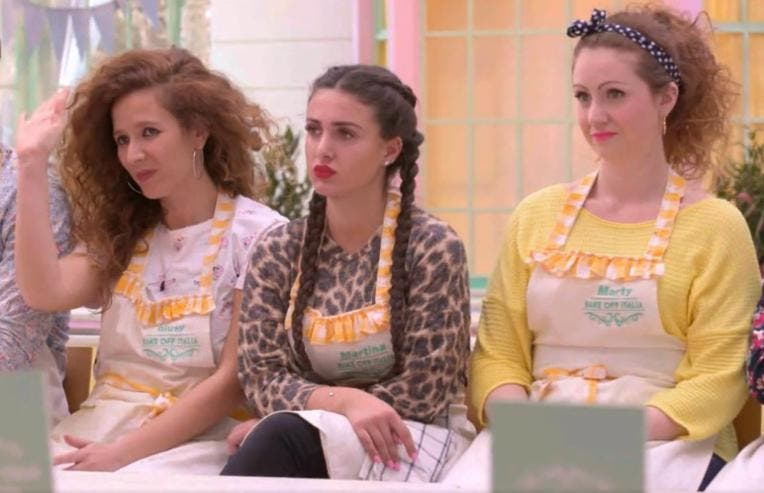 Bake Off 2019 - Giusy, Martina e Marty