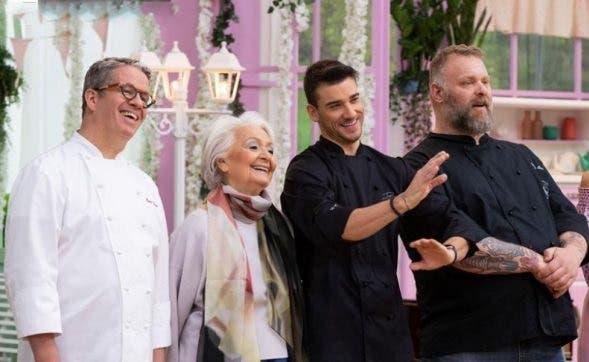 Bake Off 2019 - I giudici con Gabriele Bonci