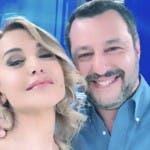 Barbara D'Urso e Matteo Salvini