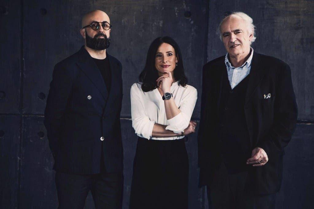Fabrizio Quattrini, Nada Loffredi e Mario Abis