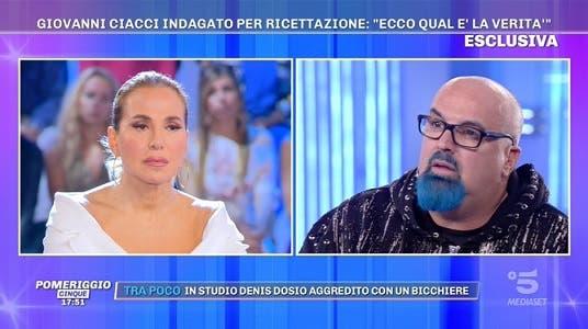 Giovanni Ciacci - Pomeriggio Cinque