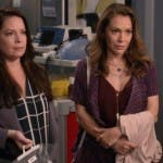 Grey's Anatomy 16 - Holly Marie Combs e Alyssa Milano