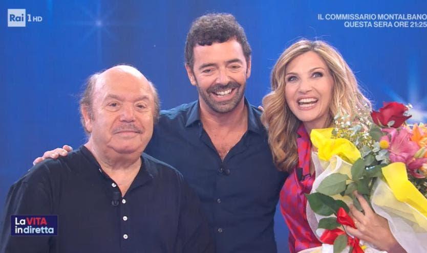 La Vita in Diretta - Lino Banfi, Alberto Matano e Lorella Cuccarini