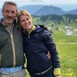 Vincenzo Venuto e Ellen Hidding a Melaverde