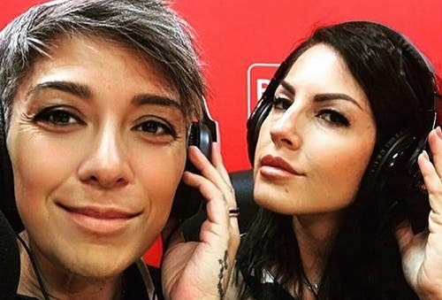 Pamela Perricciolo ed Eliana Michelazzo