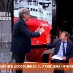 Dritto e rovescio, Majorino vs Del Debbio
