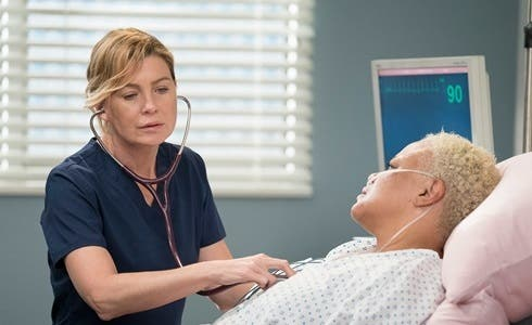 Ellen Pompeo è Meredith in Grey's Anatomy