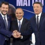 Matteo Renzi vs Matteo Salvini, Porta a Porta