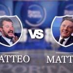 Porta a Porta, Matteo Salvini vs Matteo Renzi