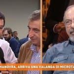 Salvini vs Vauro, Dritto e Rovescio