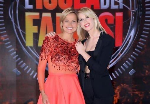 Simona Ventura e Alessia Marcuzzi