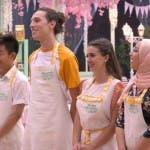 Bake Off 2019 - Rong, Riccardo, Martina e Hasnaa