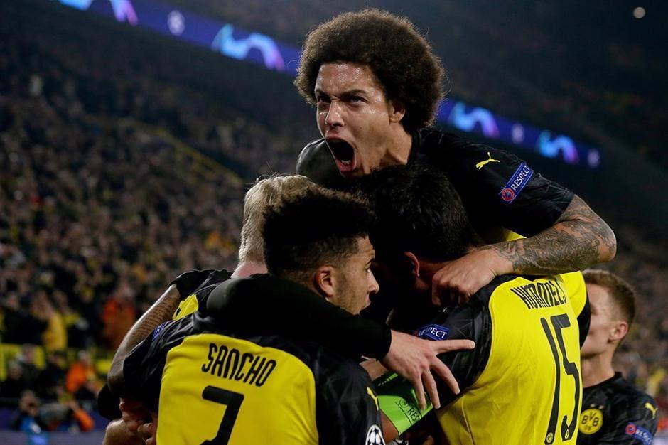 Borussia Dortmund-Inter (da Facebook)
