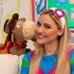 Lallo il Cavallo e Carolina Benvenga in La Posta di YoYo