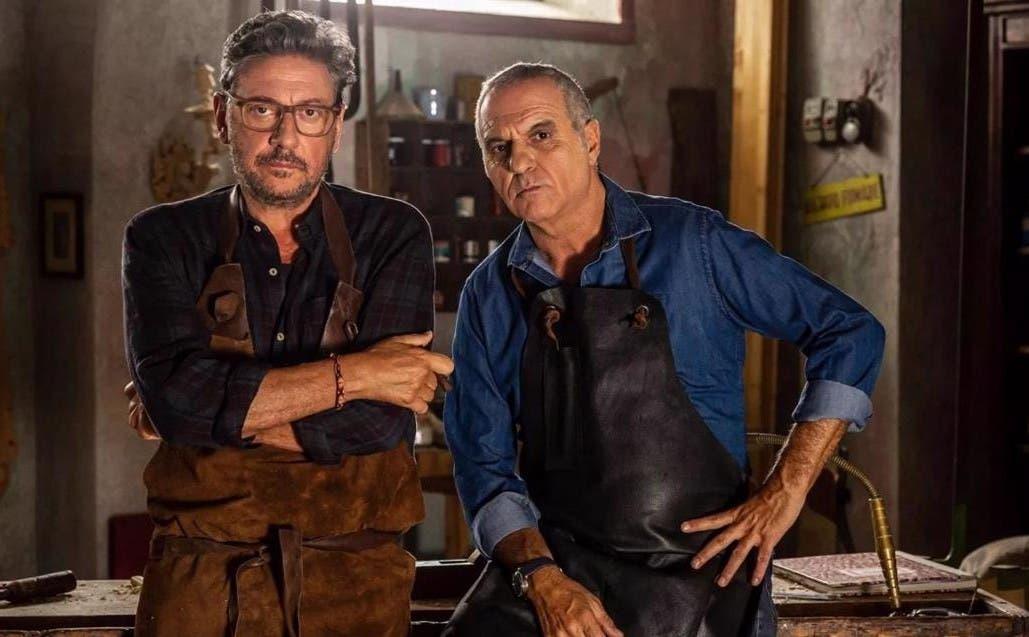 Sergio Castellitto e Giorgio Panariello