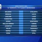 Serie A, sedicesima giornata