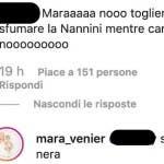 Mara Venier è nera