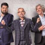 Antonino Cannavacciuolo, Bruno Barbieri e Giorgio Locatelli