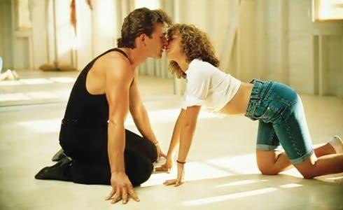 Patrick Swayze e Jennifer Grey in Dirty Dancing
