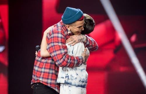 Sfera Ebbasta e Sofia Tornambene - X Factor 2019