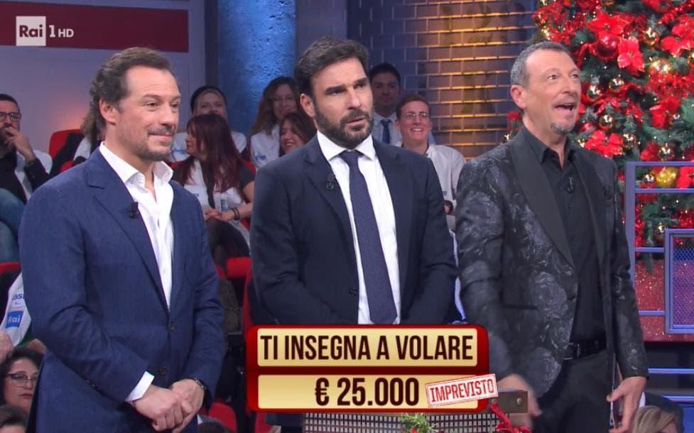 Stefano Accorsi, Edoardo Leo e Amadeus