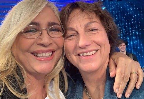 Mara Venier e Gianna Nannini