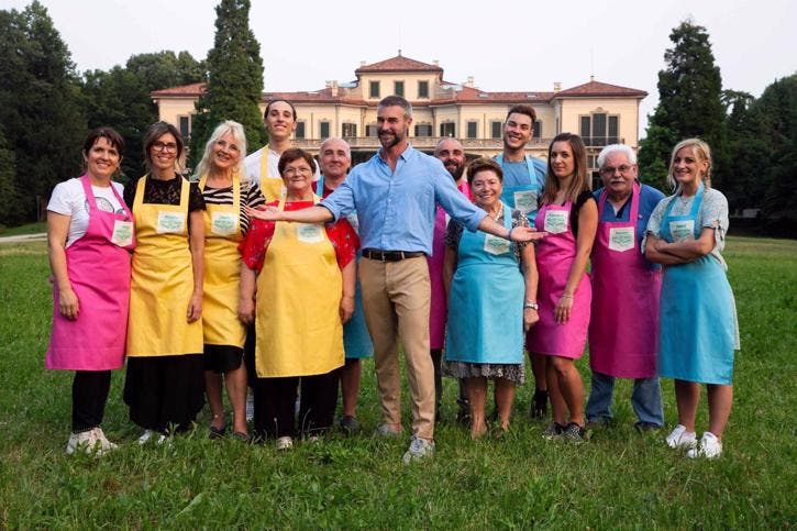 Bake Off Italia - All Stars Battle - Flavio Montrucchio e i concorrenti