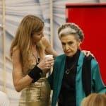 Barbara Alberti con Rita Rusic - GFVIP