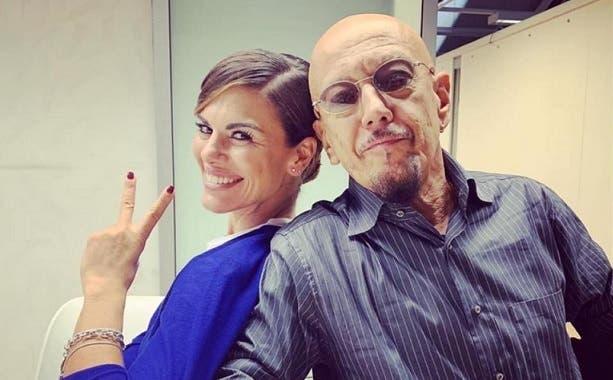 Bianca Guaccero ed Enrico Ruggeri