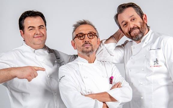 Cuochi d'Italia - Gennaro Esposito, Bruno Barbieri e Cristiano Tomei
