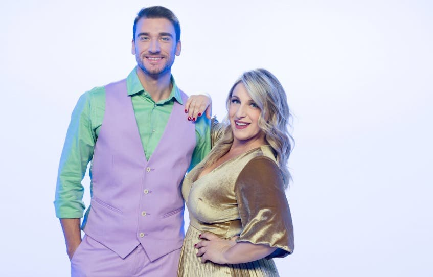 Damiano Carrara e Katia Follesa