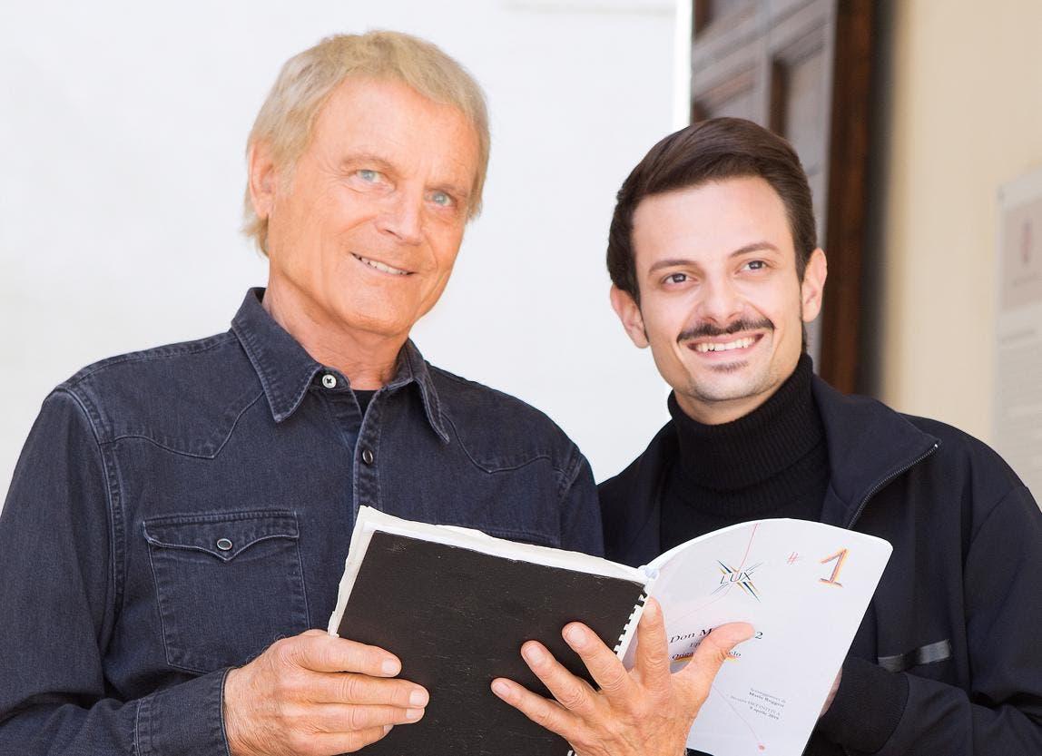 Don Matteo 12 - Terence Hill e Fabio Rovazzi