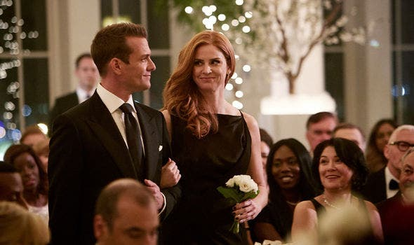 Donna e Harvey - Suits