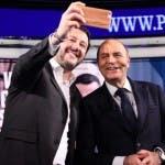Matteo Salvini e Bruno Vespa