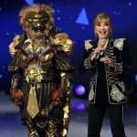 Milly Carlucci e la Maschera del Leone