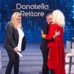 Pierluigi Diaco e Donatella Rettore