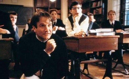 Robin Williams in L'Attimo fuggente