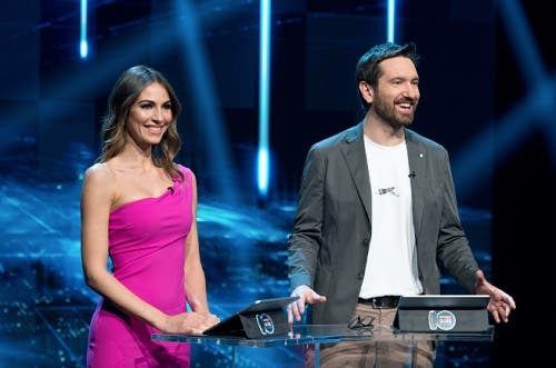 Sara Brusco e Marco Cattaneo - Sky Sport Quiz Reward