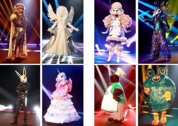 personaggi Cantante Mascherato