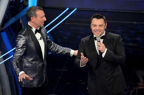 Amadeus e Tiziano Ferro - Sanremo 2020
