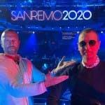 Biagio Antonacci e Amadeus - Sanremo 2020