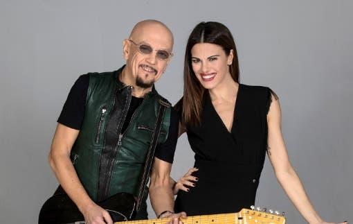 Enrico Ruggeri e Bianca Guaccero