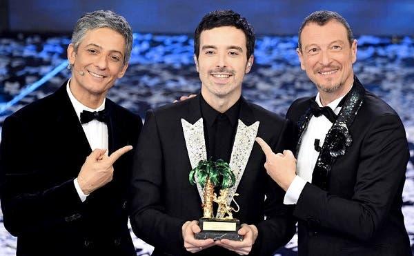 Fiorello, Diodato, Amadeus - Sanremo 2020
