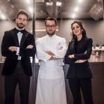 Marco Ferri, Alessandro Negrini e Chiara Carcano in Chef Save The Food!