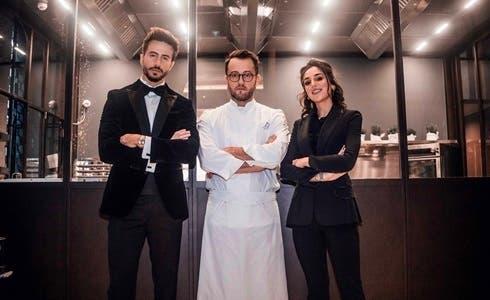 Marco Ferri, Alessandro Negrini e Chiara Carcano in Chef Save The Food!