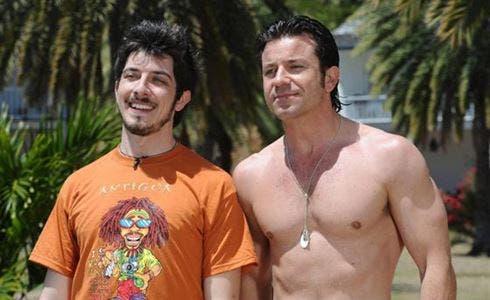 Paolo Ruffini e Paolo Conticini in Un'estate ai Caraibi